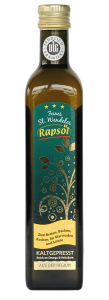 St. Wendeler Rapsöl aus der Kleeschulte Ölmühle